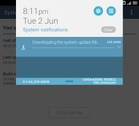Asus Fonepad 8 Lollipop update
