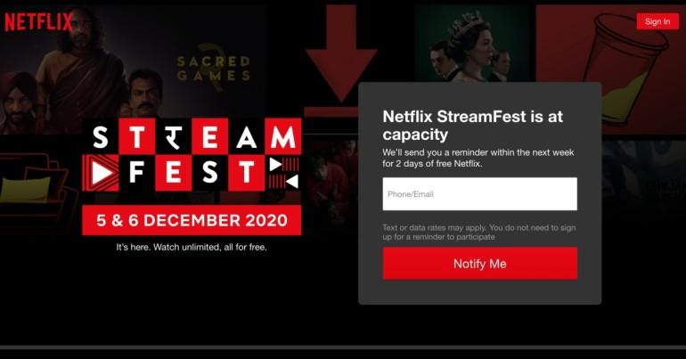 Stream Fest not working error
