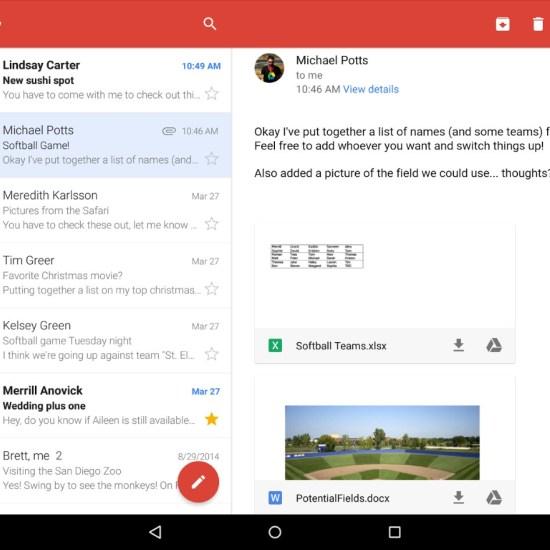 Attachment preview in Gmail