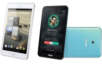 Asus FonePad 7 and Acer Iconia A1-830