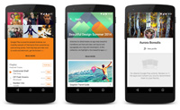 Immersive content listings in Play Store