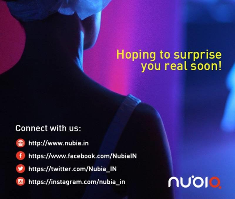 nubia India teaser