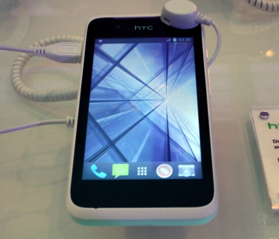 HTC Desire 210 White Front