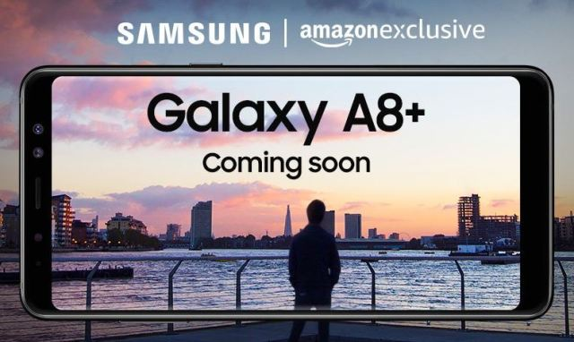Samsung Galaxy A8 Plus on Amazon