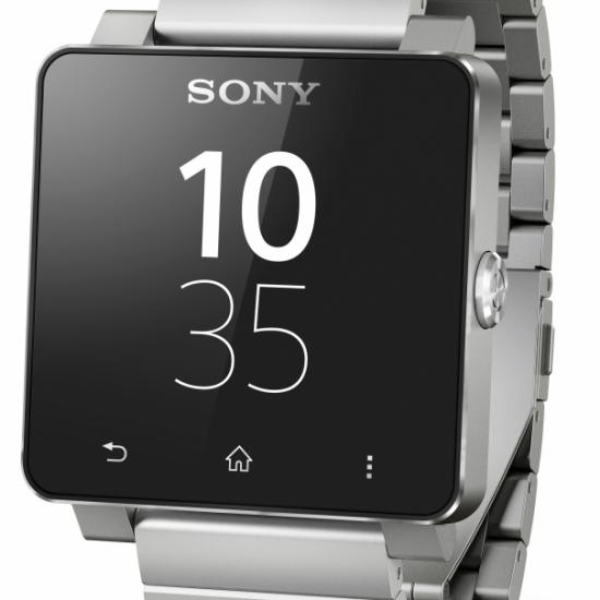 Sony SmartWatch Silver Metal