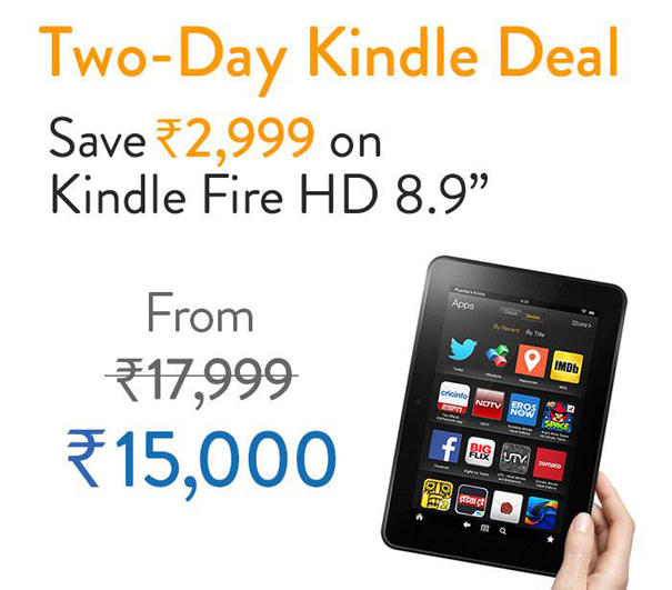 Amazon Kindle Fire HD 8.9 deal