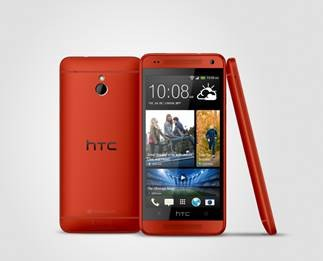 Glamour Red HTC One Mini