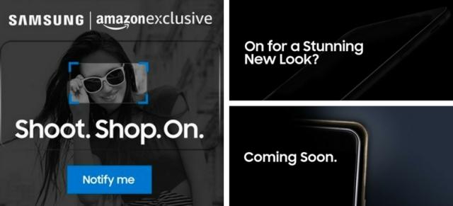 Samsung On-series Amazon teaser