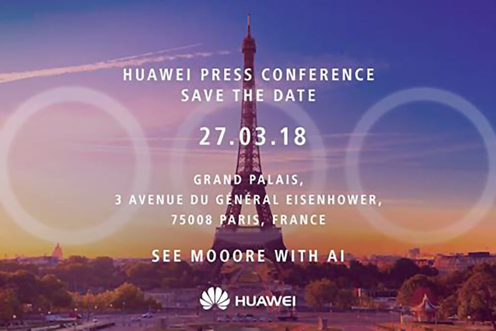 Huawei March 27 press event