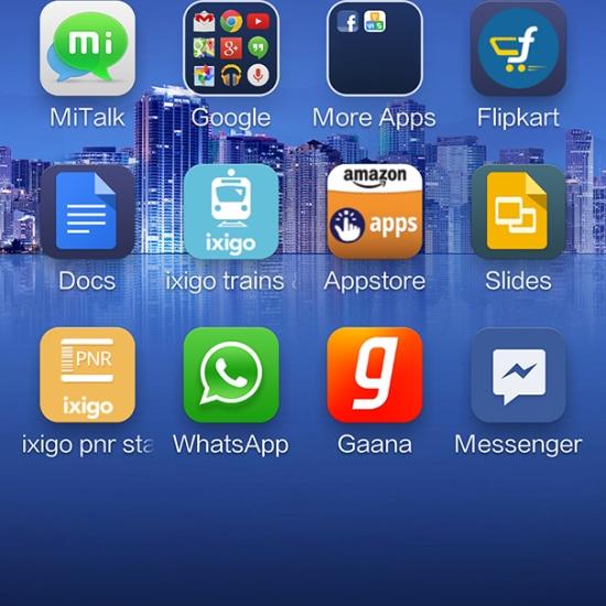 Xiaomi Mi 3 home-screen