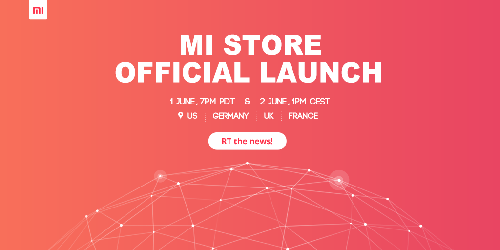 Mi Store in US and Europe