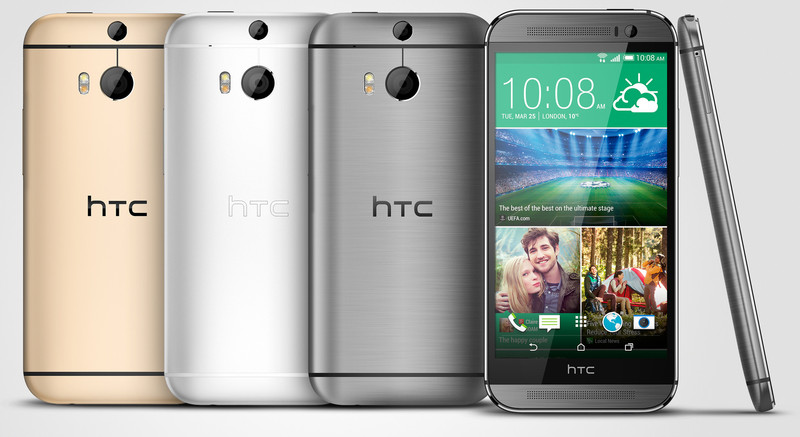 HTC One M8 Colours