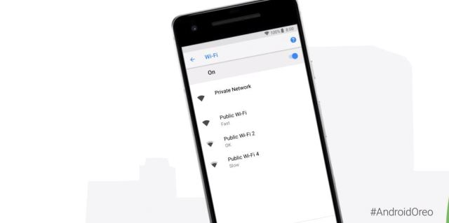 Wifi Speed Labels in Android 8.1
