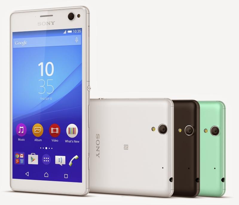 Sony Xperia C4 Colours