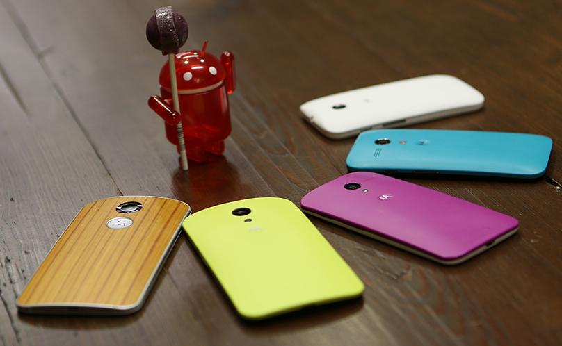 Motorola Android 5.0 update plans