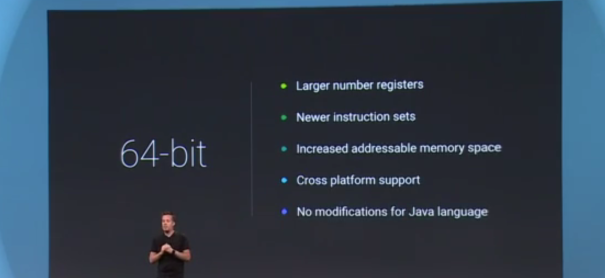 64-bit support in Android L