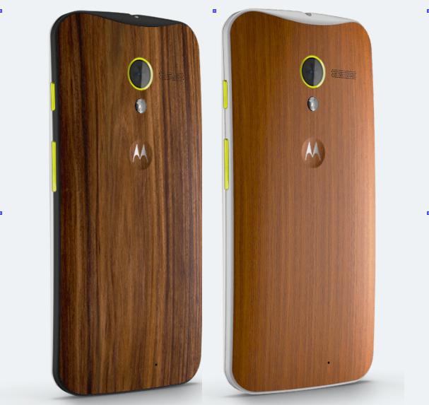 Moto X Walnut and Teak wood backs