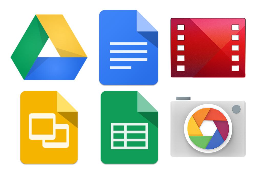 Material Design update for Google Apps