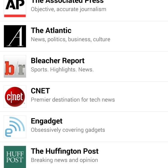 SmartNews Outlets