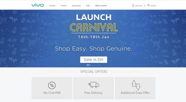 Vivo online store india