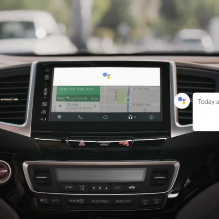 Google Assistant in Android Auto