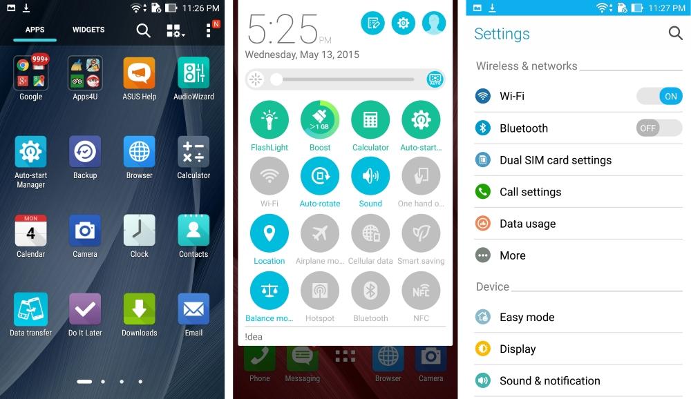 Asus Zenfone 2 UI