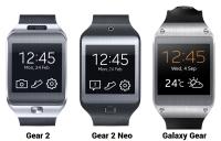 Samsung Gear smartwatches