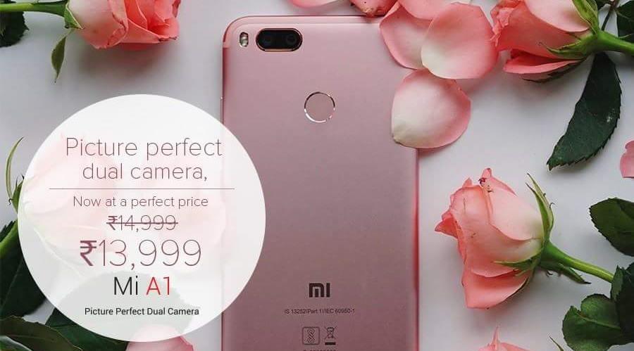 Xiaomi Mi A1 price-cut