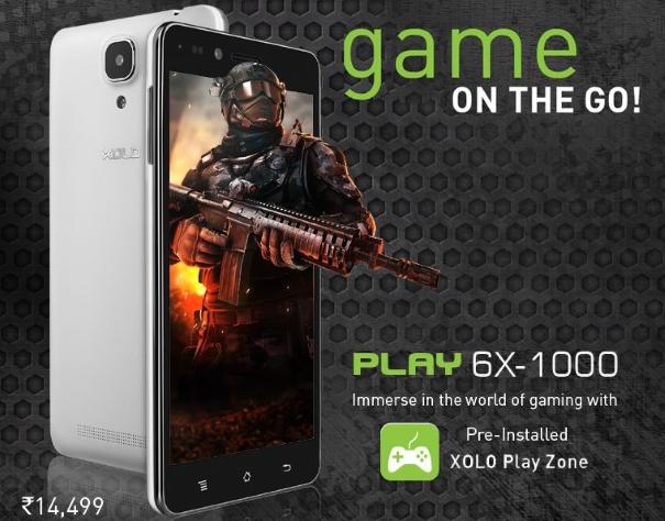 XOLO Play 6X 1000