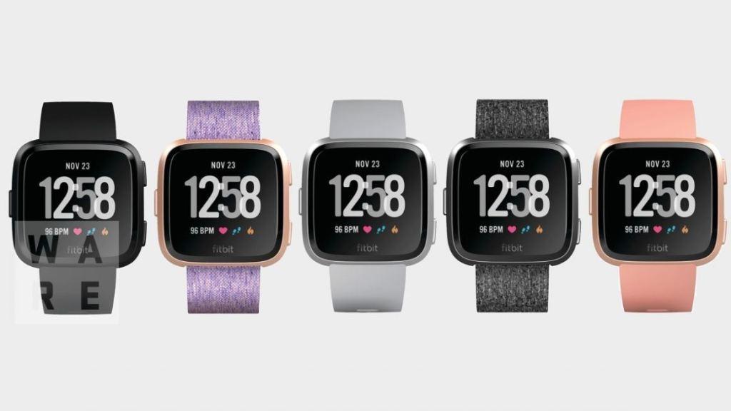 Fitbit smartwatch leak