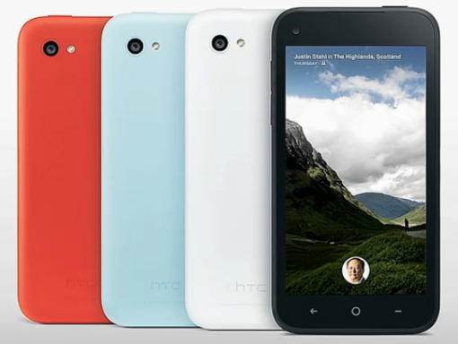 HTC First Colours