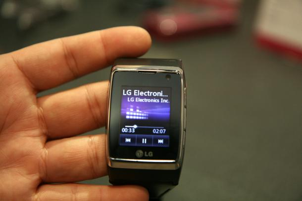 Image of LG Watch phone, which was released in 2009. Credit: CNET