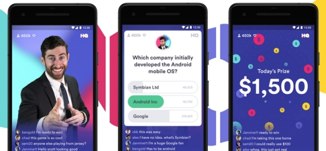 HQ Android app