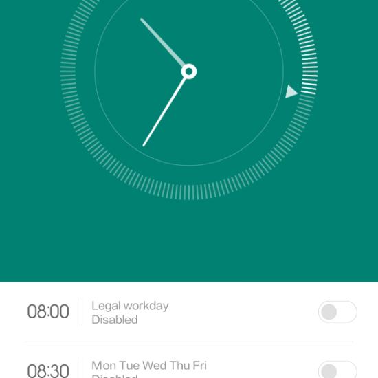 MIUI 6 Clock