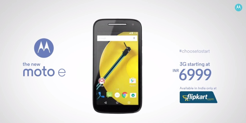 Moto E (2nd Gen) price