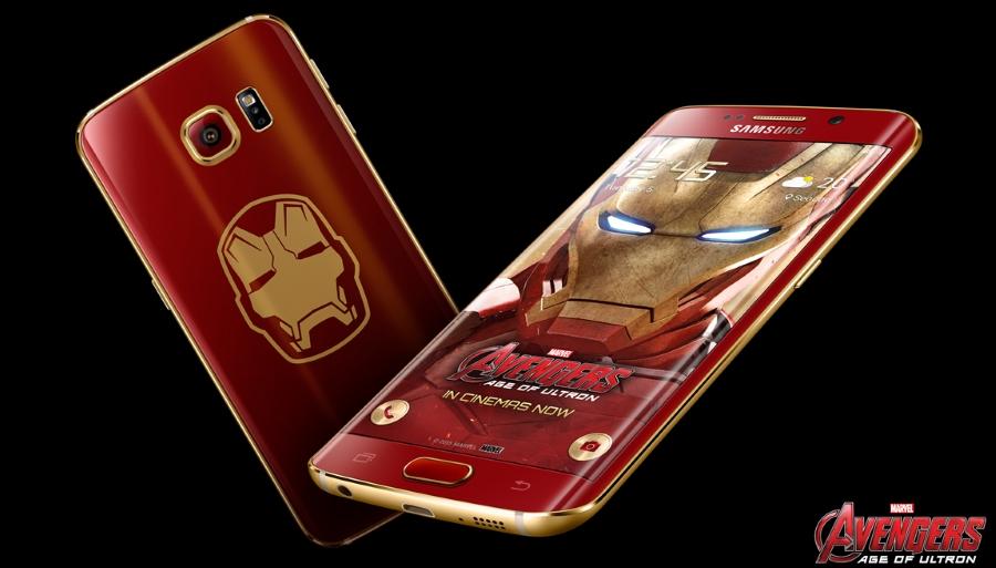Samsung Galaxy S6 edge Iron Man Limited Edition